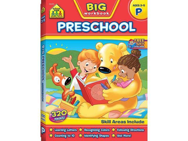 School Zone Back to School Workbook: Preschool