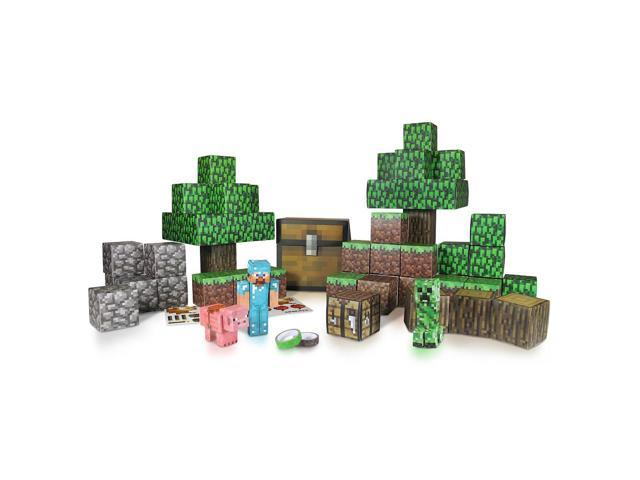 Minecraft Overworld Deluxe Papercraft Pack