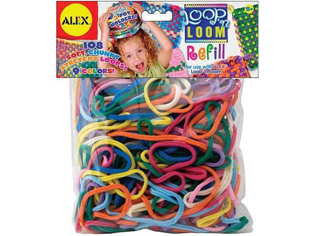 Alex Toys Loop 'n Loom Refill 108-Pkg - Multi-Colors