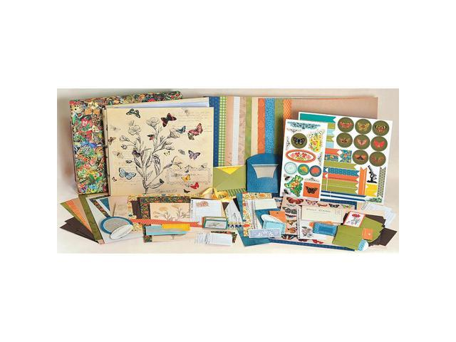 1 Hour Album 12 x 12 inch Scrapbook Kit - Field Notes