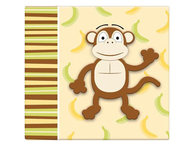 MBI 12 x 12 inch 3D Scrapbook - Monkey