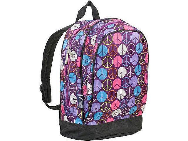 Wildkin Sidekick Backpack - Purple Peace Signs