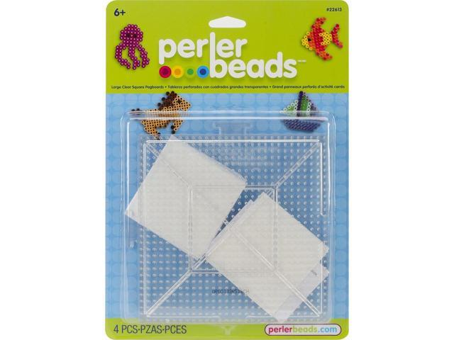 Perler Replacement Pegboards 2 Pack - Large Clear Square