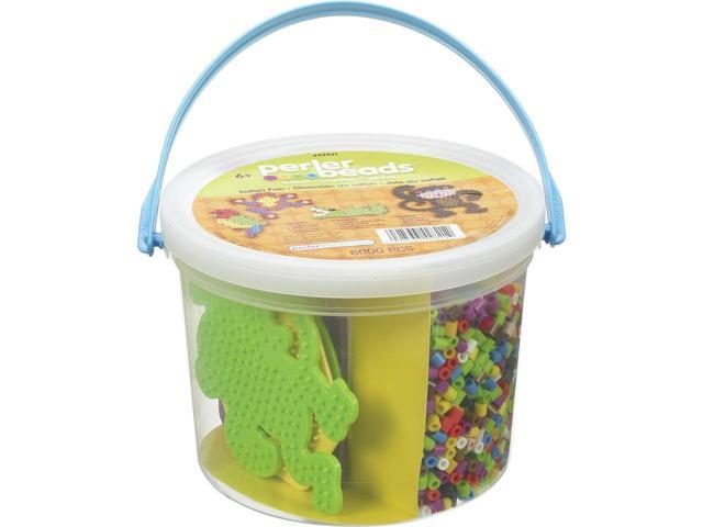 Perler Fun Fusion Fuse Bead Activity Bucket-Safari Fun