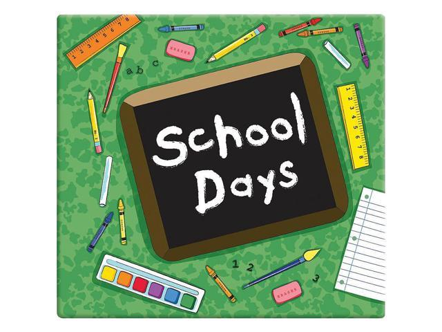MBI 12 x 12 inch School Days Album - Green
