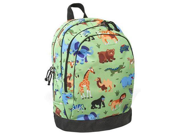 Wildkin Sidekick Backpack - Olive Kids Wild Animal