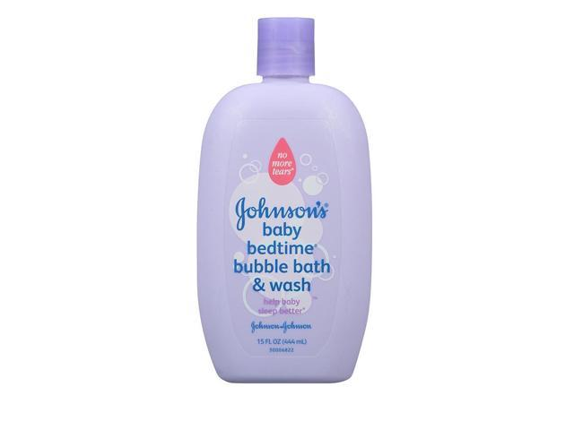Johnson & Johnson Bedtime Bubble Bath & Wash - 15 Ounce