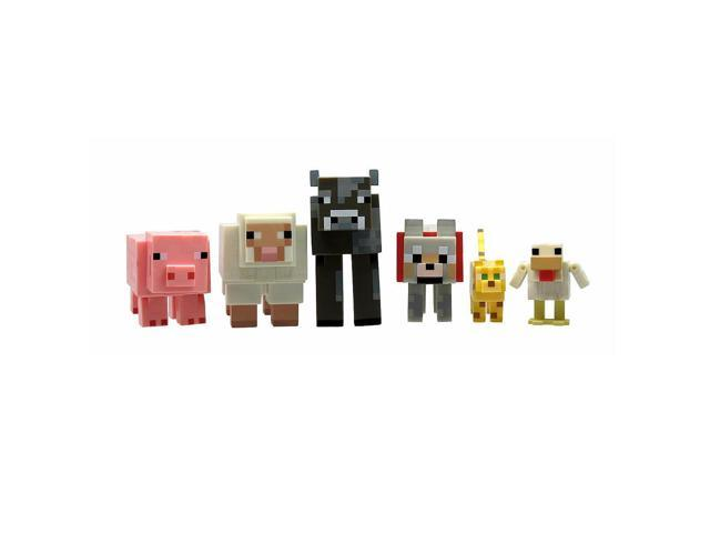 Minecraft Core Animal 6 Pack Mini Figure Set