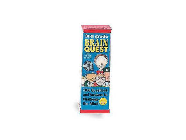 Brain Quest Series Flash Card Decks - 3rd Grade