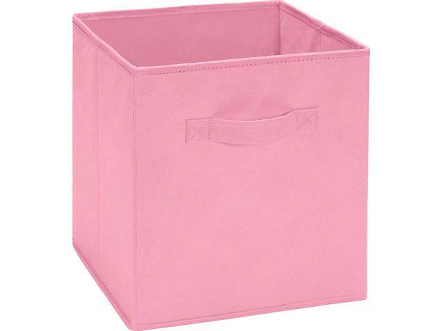 Ameriwood Fabric Storage Bin Pastel Pink Neweggcom