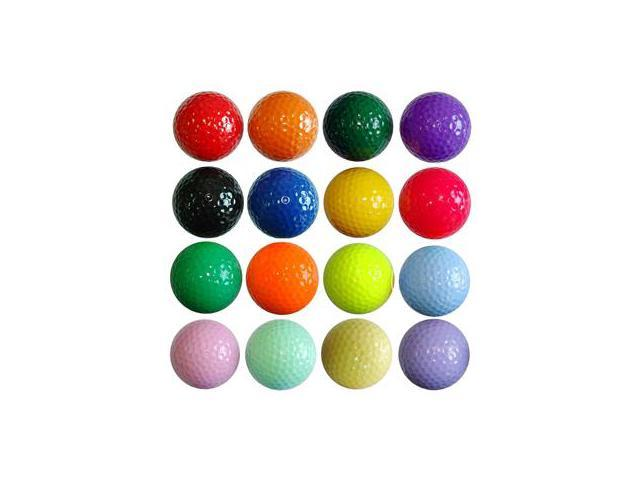 Kids Color Golf Balls - 1 dozen Floater - NEON Pink