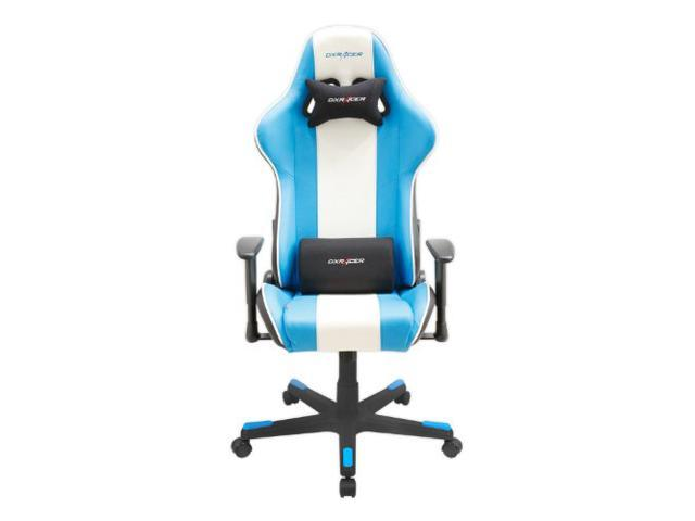 DXRacer Office Chair OH/FD18/BWB PC Gaming Chair Automotive Seat Ergonomic Racing Chair Executive Computer Chair eSports Seat Furniture with FREE Cushions