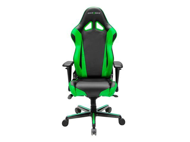 DXRacer Racing Series OH/RV001/NE Newedge Edition Racing Bucket Seat Office Chair Gaming Chair PVC Ergonomic Computer Chair eSports Desk Chair Executive Chair With Pillows