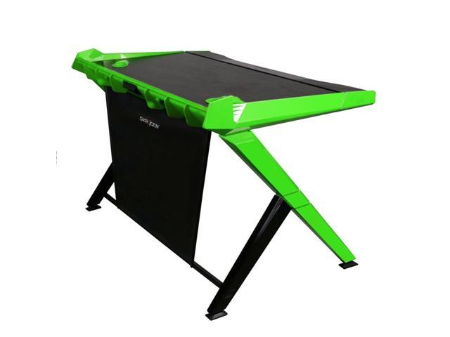 gaming office desk. dxracer gd1000ne gaming office computer desk green and black m