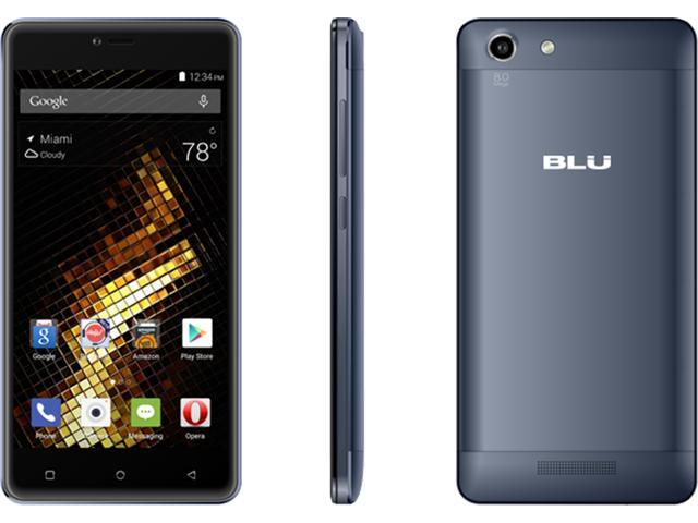 BLU Energy X 2 - With 4000 mAh Super Battery - US GSM Unlocked Smartphone - Black E050u