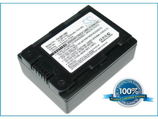 1800mAh Battery For SAMSUNG HMX-H204, HMX-H205, SMX-F40, SMX-F43, SMX-F44