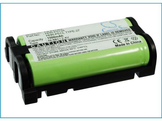 1500mAh Battery For Panasonic KXTG2216, KXTG2224, KXTG2226, KXTG2235, KXTG2238