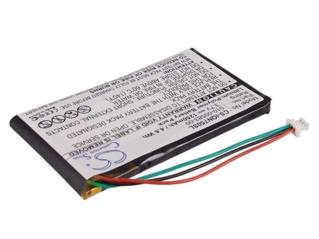 1250mAh Battery For Garmin Nuvi 750, Nuvi 755, Nuvi 755T