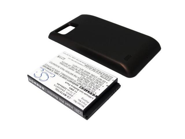 3200mAh Battery For Motorola Droid Bionic XT875, Atrix 2 Extended with Cover