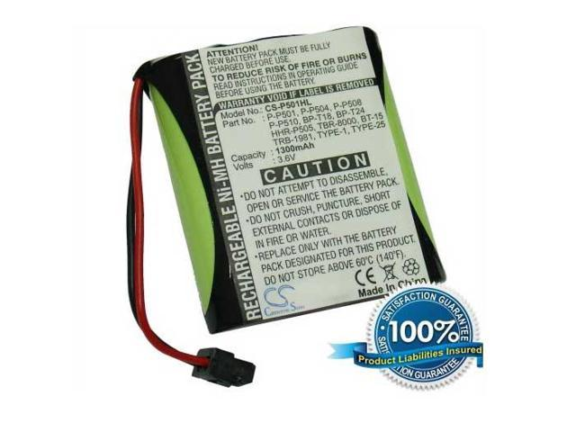 1300mAh Battery For Panasonic KX-TCM939-B, KX-TCM943, KX-TCM944-B, KX-TCM947-B