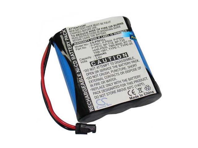 700mAh Battery For Panasonic KX-T3880, KX-T3880R, KX-T3900, KX-T800, KX-T8000