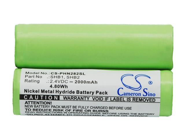 vintrons Replacement Battery For BRAUN 5520,5525,5550,5580,5584,5585,5585u,5586, ELTRON 100,2100