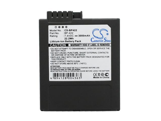 VinTrons 3000mAh Battery For CANON DM-MV3, DM-MV3i, DM-MV3iMC, DM-MV3MC, DM-MV4