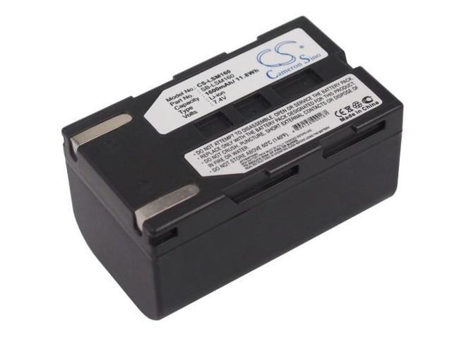 VINTRONS Battery fit to Samsung VP-DC161WB, SC-D453, VP-DC161, VP-D563, SC-D366, VP-D651, VP-D362i