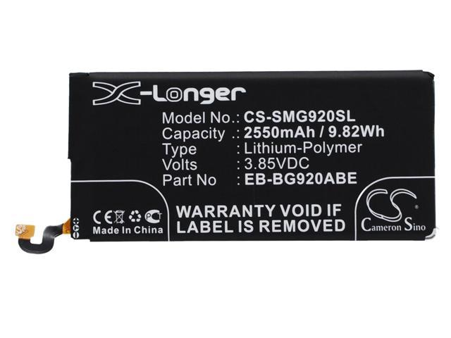 vintrons Replacement Battery For SAMSUNG Galaxy S6