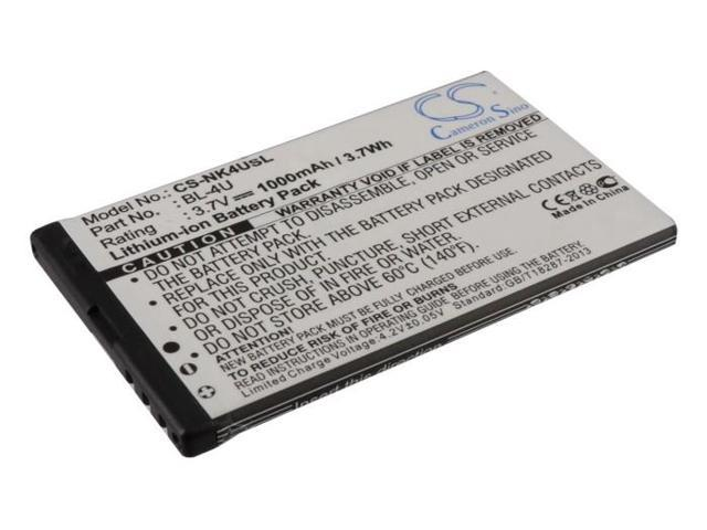 vintrons Replacement Battery For NOKIA C5-04, C5-05