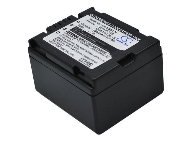 VINTRONS Rechargeable Battery 1050mAh For Panasonic VDR-M95, DZ-MV380A, NV-GS408GK, DZ-MV730, NV-GS120EG-S