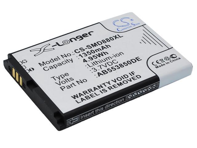 vintrons Replacement Battery For SAMSUNG GT-B5702C, GT-B5712C, SGH-D880, SGH-D880i