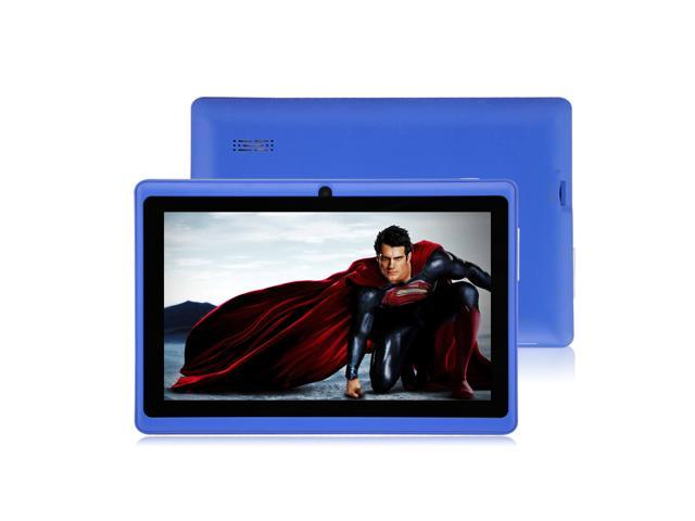 """New 4GB 7"""" MID Google Android 4.0 Multi-touch Capacitive Tablet PC WIFI 3G 512MB Blue"""