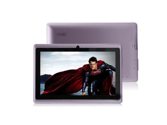 """Purple 4GB 7"""" MID A13 Android 4.0 Multi-touch Capacitive Tablet PC WIFI 3G 512MB"""
