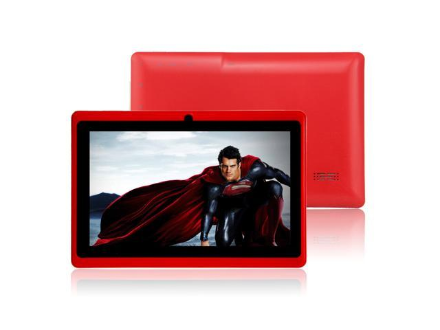 """Red 4GB 7"""" MID A13 Android 4.0 Multi-touch Capacitive Tablet PC WIFI 3G 512MB"""
