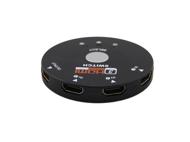 3 Port 1080P HDMI Switch Switcher Splitter For HDTV PS3 DVD