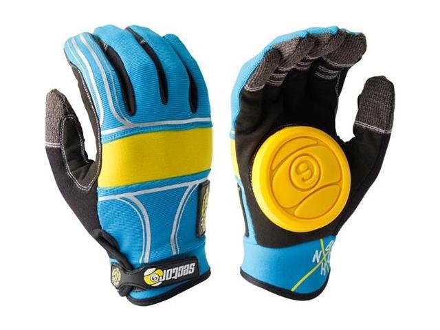 SECTOR 9 BHNC SLIDE GLOVES L XL-BLUE