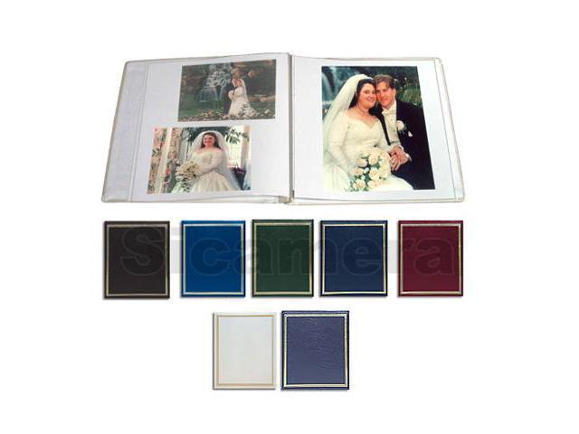 Pioneer PS-5781 Hunter Green Post Bound, Clear Pocket Photo Album with Solid Color Covers, Holds 12-5x7 & 4-8 X 10 Photos
