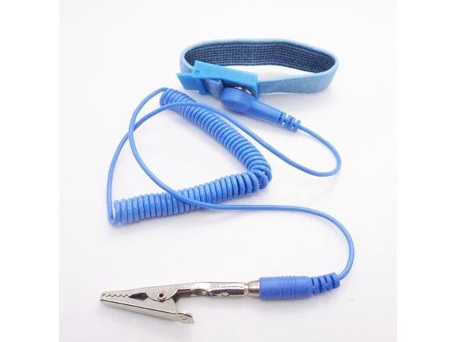 Blue Discharge Anti-Static AntiStatic Wrist Strap Band
