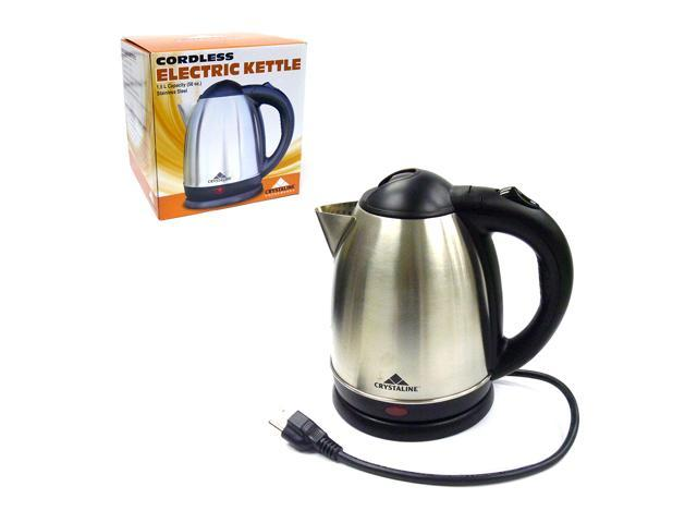 Kettle Hk Electric D184t ~ Cordless electric kettle stainless steel w auto