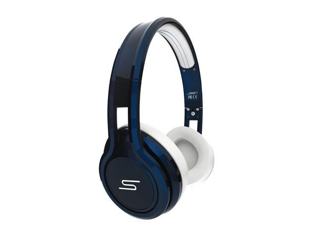 SMS Audio STREET by 50 Cent On Ear Headphones - Blue