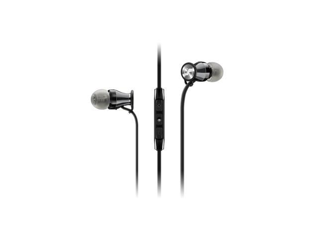 Sennheiser Momentum In-Ear Headphones - Galaxy/Android Devices - Black Chrome