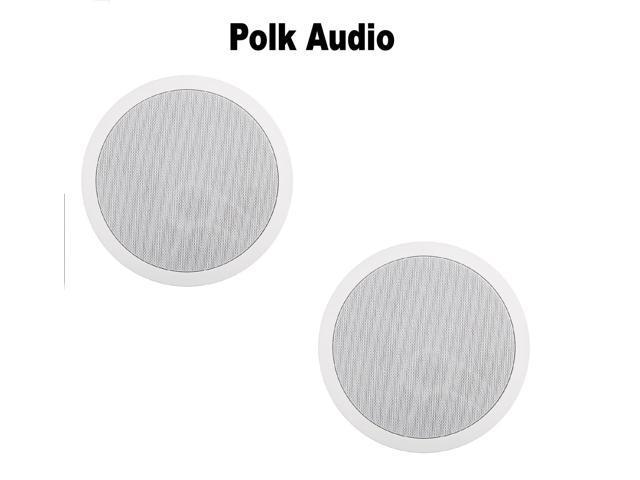 (1 Pair) Polk Audio MC80 High Performance In-Ceiling Speaker Bundle