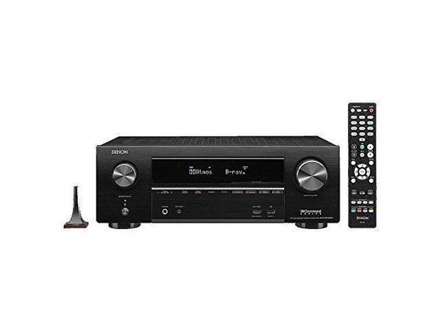 Denon AVR-X1500H 7.2-Channel 4K Ultra HD AV Receiver with HEOS