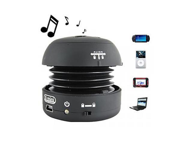 Mini Portable Sphere Speaker (Black)