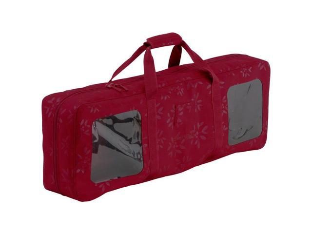 Christmas Wrapping Supply Organizer and Storage Duffel Bag