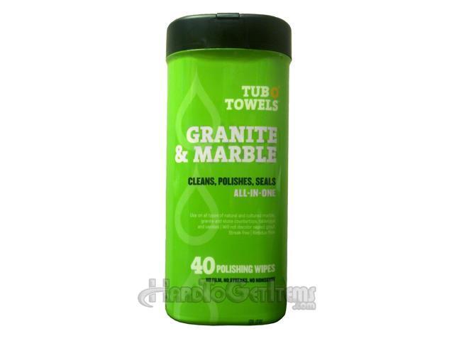 Tub O' Towels Granite and Marble Wipes