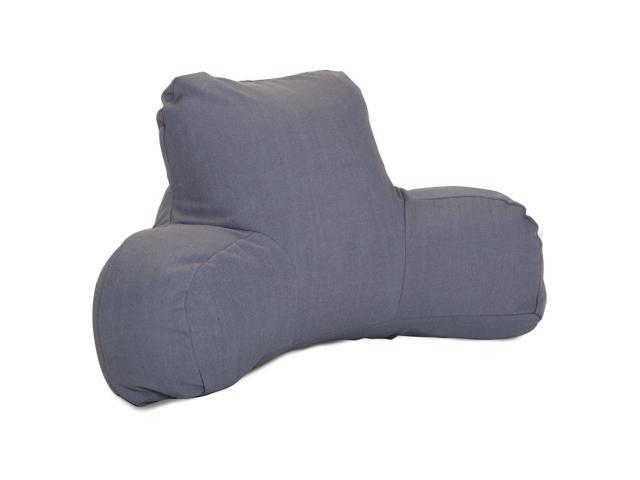 Majestic Home Goods Navy Wales Reading Pillow