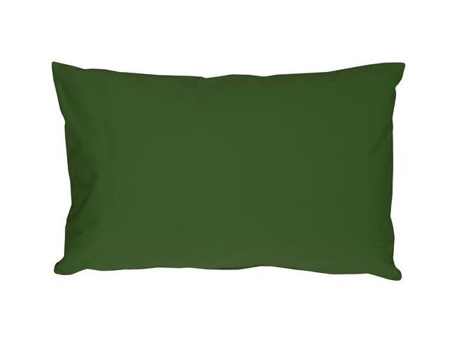 Pillow Decor - Caravan Cotton Forest Green 12x19 Throw Pillow - Newegg.com