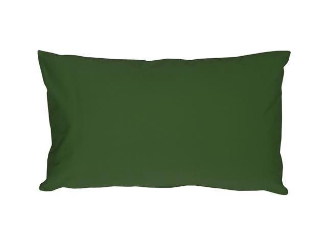 Pillow Decor - Caravan Cotton Forest Green 9x18 Throw Pillow - Newegg.com